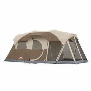 製品説明 コールマンWeatherMaster 6テントは2部屋と全体の家族のための十分なスペースが...