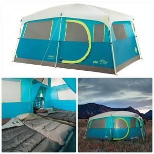 代金引換不可商品  コールマンハンプトン6人13フィートで快適に眠る。7フィートテントによって。あな...