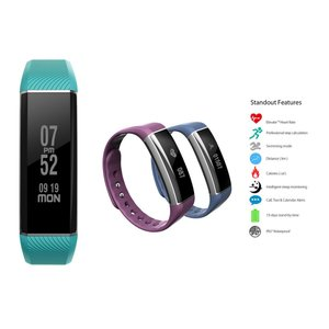 Bluetooth スマートウォッチ iPhone Samsung スマートホン 電話 歩数計 心拍数モニター
