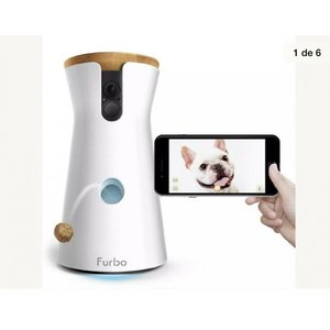 Furbo(ファーボ)ドッグカメラ 飛び出すおやつ 双方向会話 フルHDカメラ iOS Androi...