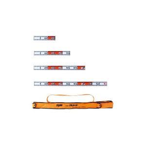 マイゾックス アルミ製標尺 ニューアルロッド5点セット 60mm幅 ケース付き NAR-5set|ksi-webshop