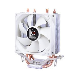 CPUクーラー CPUファン LC-CC-95A 92mmサイドフロー型 銅ヒートパイプ アルミ放熱...