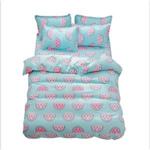 布団カバー セット 3点 4点 シングル セミダブル ダブル クイーン ベッドカバー 寝具セット 枕...