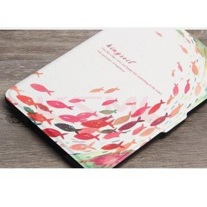 カバー ケース 手帳型 シンプル Kindle Newモデル タブレット 6インチ用 PUレザー ア...