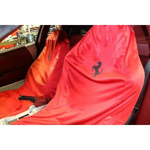 Ferrari純正シートカバー Lサイズ レッド|ksp-attain|02
