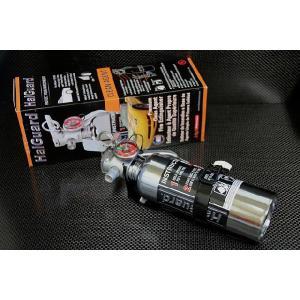 H3R ハロトロンガス消火器(HalGuard) HG100C クロームタイプ|ksp-attain