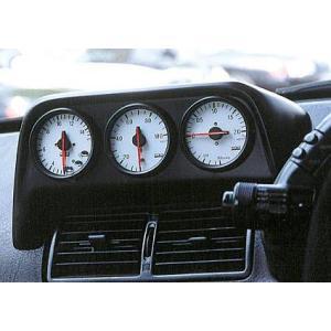 ATTAINφ60トリプルメーターパネル スカイライン・GTR R32系 カーボン製 ksp-attain