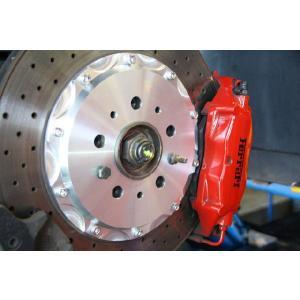 M-Tecnologia フェラーリ360modena&F430専用 ブレーキハウジングマスク (アルマイト無し)|ksp-attain