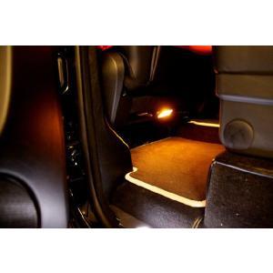 メルセデスベンツ W463ゲレンデ Gクラス専用 LEDアンバーフットランプ|ksp-attain
