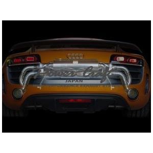 Power Craft製アウディ R8 GT 5.2 V10 用マフラーエキゾーストバルブ付|ksp-attain