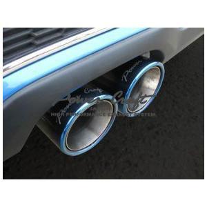 Power Craft製 BMW MINIクーパーS用マフラーエキゾーストバルブ付|ksp-attain