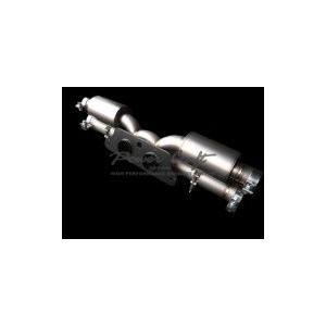 Power Craft製ポルシェ997GT3 GT3RS用マフラー純正バルブ使用タイプ1|ksp-attain