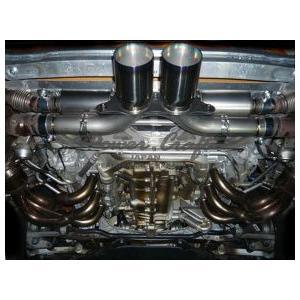 Power Craft製ポルシェ997GT3 GT3RS用マフラー純正バルブ使用タイプ1|ksp-attain|02