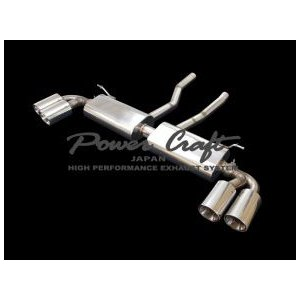 Power Craft製ポルシェカイエン(V8)用マフラー|ksp-attain