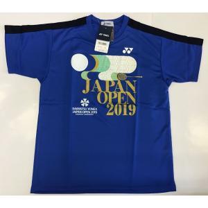 ヨネックス ジャパンオープン2019大会記念シャツ バドミントン  YOB19300 ユニプラクティスシャツ 日本製 ダイハツ YONEX Japan Open