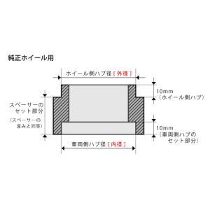 DIGICAM ワイドトレッドスペーサー&ハブリングセット P.C.D.100-4H/5H-20mm(P1.5)_[15100]|kspec|02