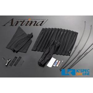 Artina プライバシーカーテンキット/フロント 20系アルファード・ヴェルファイア_[AR-CUR-2AL-F] kspec 02