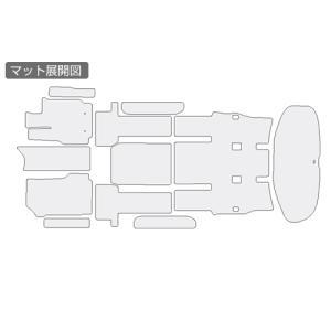 Artina フロアマットEX 70系ノア・ヴォクシー後期 7人乗り_[AR-FLOOR-EX--17-18]|kspec|03