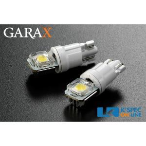 GARAX ハイパワーLEDルームランプバルブMAX [T10/側面]_[BL-T10-I-W] kspec