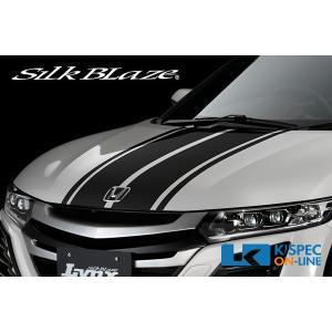 SilkBlaze LynxWorks ボンネットストライプ【S660】Aタイプ メタリック/マット|kspec