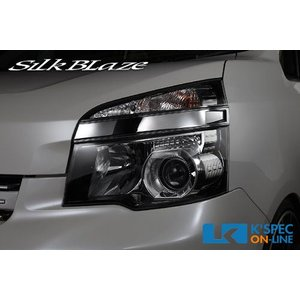 [販売終了]【70系ヴォクシー後期】SilkBlaze クロームヘッドライトカバー_[C-HEAD-03]|kspec