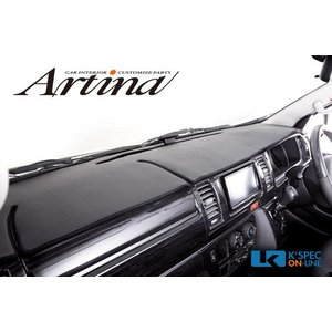 Artina ダッシュマット 200系ハイエース ワイド/KDH2**・TRH2**_[DM-T028]|kspec