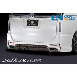 トヨタ【80系ヴォクシー】SilkBlaze GLANZEN リアバンパー/バックフォグなし【純正色塗装】_[GL-80VO-RB-c]|kspec