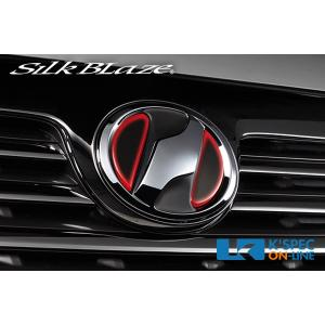 SilkBlaze ヒートエンブレムシート/ネッツマーク オーナメント用 NZ02/レッド_[HRO-NZ02BK] kspec