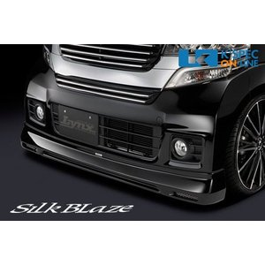 SilkBlaze Lynx フロントハーフスポイラー【未塗装】N-BOXカスタム(JF1/JF2)_[LYNX-NBOXC-FS]|kspec