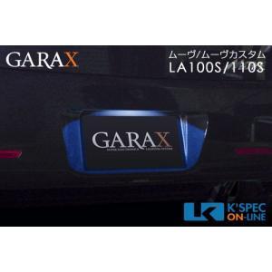 100系ムーヴ/ムーヴカスタム GARAX LEDナンバーランプ_[MV10-004]|kspec