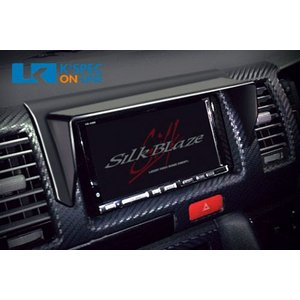 SilkBlaze 車種専用ナビバイザー【200系ハイエース 標準 1/2/3型】|kspec