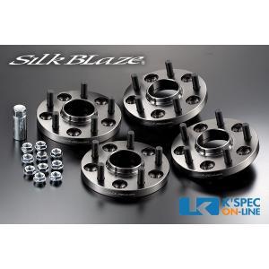 SilkBlaze【30系アルファード/ヴェルファイア 前期】ハブ付スペーサー(1台分) P.C.D.114.3-5H-16mm/16mm(P1.5)_[SPC-30AL-S1616]|kspec
