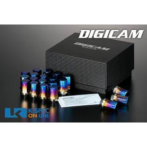 DIGICAM チタンレーシングナット 20本セット 袋タイプ 35mm_[TNF1]|kspec