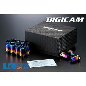 DIGICAM チタンレーシングナット 16本セット 貫通タイプ 35mm_[TNKS1]|kspec