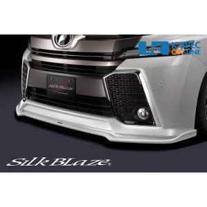 トヨタ【30系ヴェルファイア [Z]】SilkBlaze フロントリップスポイラー Type-S【未塗装】_[TSR30VEZ-FS]|kspec