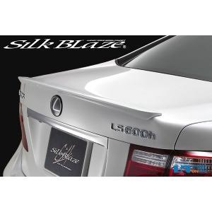 SilkBlaze トランクスポイラー【純正色塗装】レクサス・LS(LS600 UVF45/46)_[AE-T-107-c]|kspec