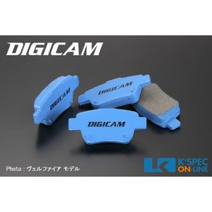 DIGICAM ブレーキパッド/リア 30系プリウス_[KS-R189]|kspec