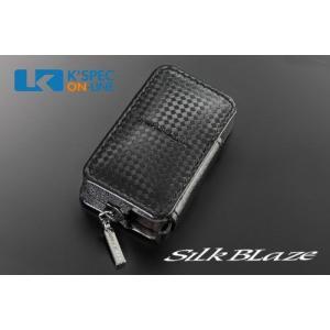SilkBlaze スマートキーケース スバルAタイプ/ブラックチェック kspec