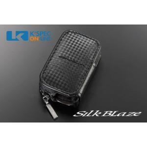 [販売終了]SilkBlaze スマートキーケース トヨタAタイプ/ブラックチェック_[SKC-TA-CK]|kspec