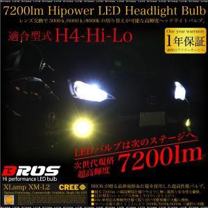 LED LEDバルブ H4 Hi/Lo 切替 12V 24V 車検対応 爆光 CREE 2個 ヘッドライト フォグランプ 無極性 3色 3000K 6000K 8000K 普 トラック あす つく _27255|ksplanning