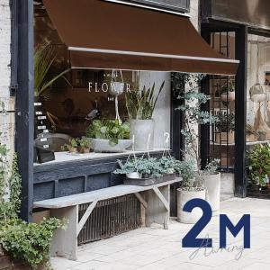 オーニングテント 日よけ 雨よけ 伸縮 幅2m×張出1.5m こげ茶 ブラウン サンシェード 折畳 ...