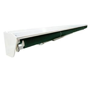 オーニングテント カバー 4m 白 後付可能 日焼け防止 日よけカバー   _71079|インポート直販Ks問屋