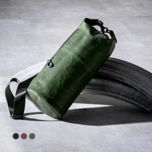 ショルダーバッグ メンズ 斜めがけ かっこいい 本革 革 レザー ナップザック 3色 ブランド create zero @82189|ksplanning