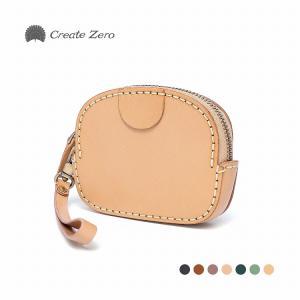 コインケース メンズ レディース 革 本革 ヌメ革 カード 手作り 小物入れ 財布 ブランド 7色 create zero @82215|ksplanning