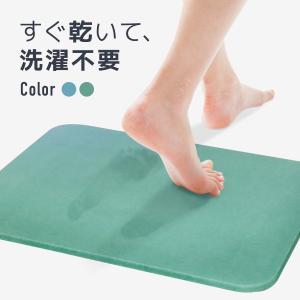 珪藻土バスマット おしゃれ 45cm×35cm 吸水 速乾 抗菌 表面さらさら 選べる2色 足拭きマット あすつく対応 @83300|ksplanning
