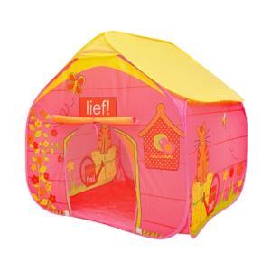 キッズテント ハウス 室内 子供 折りたたみ ピンク 90×90×90cm 男の子 女の子 おもちゃ 玩具 おままごと ボールハウス  あすつく対応_85282|ksplanning