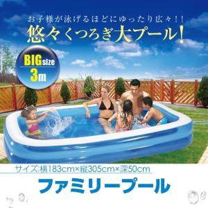 プール 大きなプール 183cm×305cm ビニールプール 屋外 水遊び 水浴び 夏 レジャー  あすつく対応 _85408|ksplanning