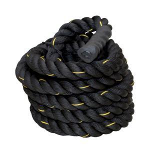 ジムロープ トレーニングロープ スイングロープ 筋トレ 体幹 全長9m 直径5cm 重量約10.75k バトルロープ ナイロン製 有酸素運動 フィットネス △ _86215