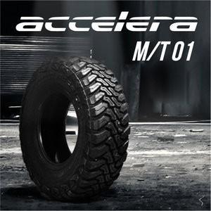 ジムニーに!185/85R16 LT 105/103Lオフロードタイヤ accelera(アクセレラ) M/T-01 ksrally