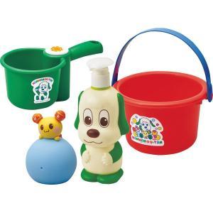 知育玩具 おもちゃ ワンワンとうーたんのおふろであそぼセット ワンワン お風呂 kss-s